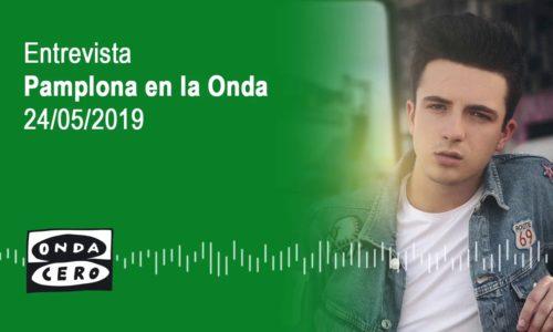 Javier habla de su primera gira (Onda Cero Navarra, 2019)