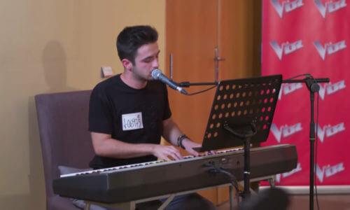 'La Voz' · El casting piano: Cantando «A million dreams»