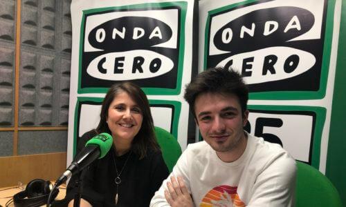 Onda Cero · Entrevista a Zahara (Más de Uno Pamplona)