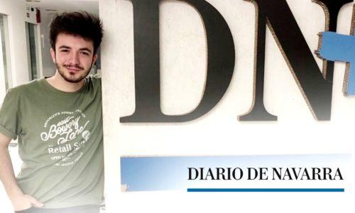 Javier habla sobre su paso por 'La Voz' (Diario de Navarra)