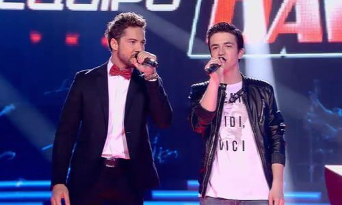 'La Voz Kids' · Final: «Angels» con David Bisbal