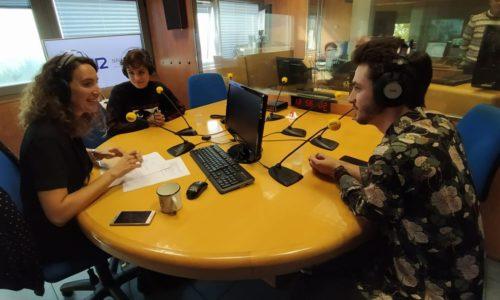 SER Navarra entrevista a Natalia Lacunza y Javier Erro