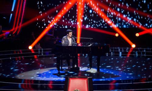 Javier regresa a 'La Voz' de la mano de Pablo López tras superar las 'Audiciones'