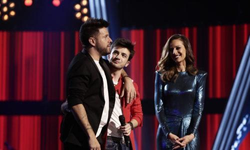 A las puertas de la Final: Javier Erro se despide de 'La Voz' en la fase de Directos
