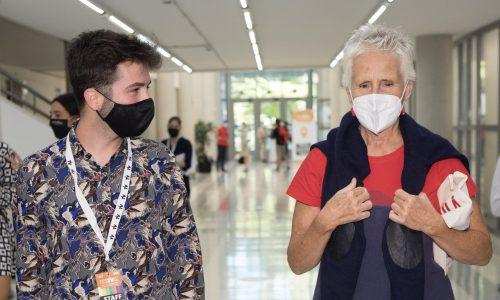 Entrevista a Mercedes Milá por el estreno de 'Scott y Milá'