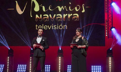 Javier Erro, artista invitado en los Premios Navarra TV