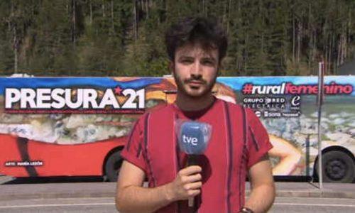 TVE Navarra: El autobús de la repoblación arranca su gira nacional
