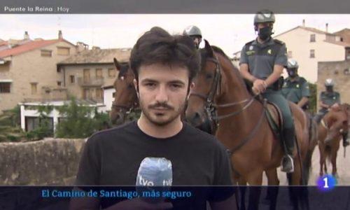 """TVE Navarra: Un Camino De Santiago """"más seguro"""""""